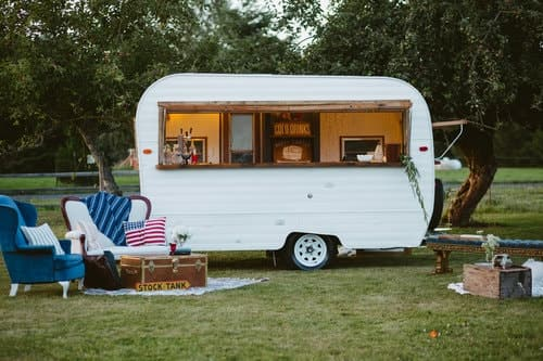 appy Camper Cocktail Company trailer