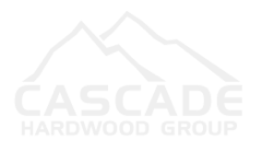 cascade hardwood logo in white