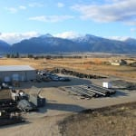 Aerial view of Stevensville MT Specified Fittings