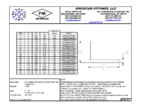 DIPS FLANGE ADAPTER CHART