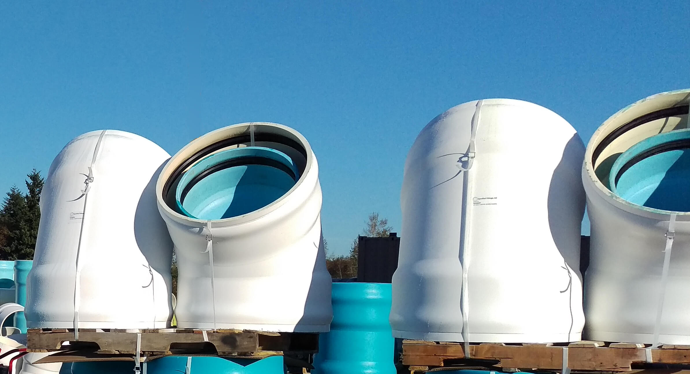 Double walled PVC Pipes