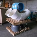 Pipe Fittings on pallets, ready to ship