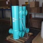 Custom order of pipe fittings ready to ship