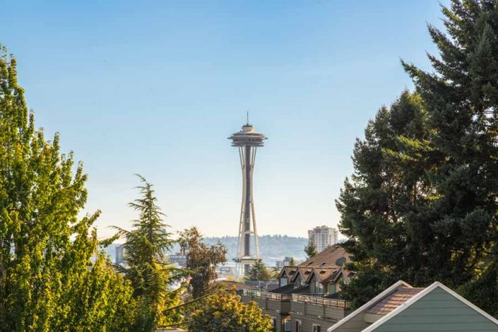View of Seattle's Space Needle