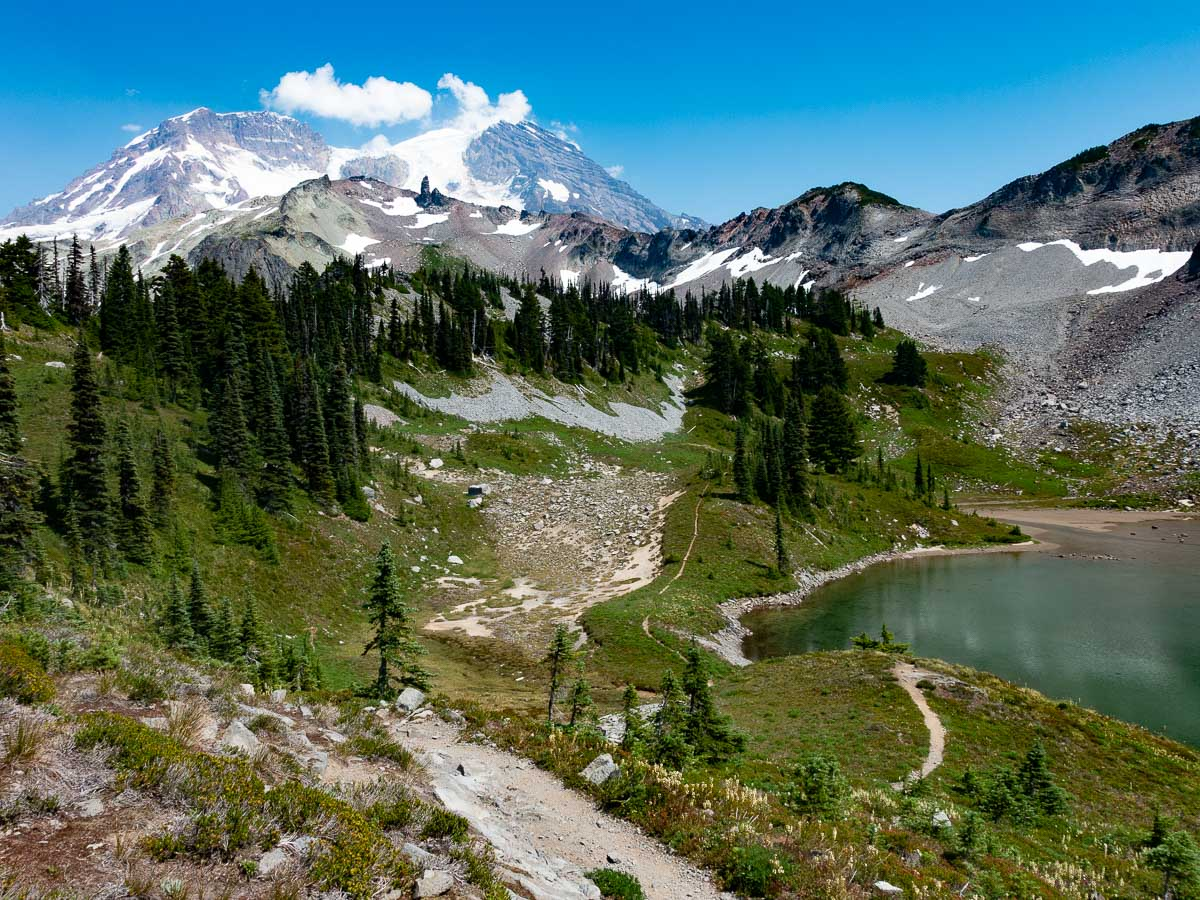 Mt. Rainier National Park's St. Andrews Lake