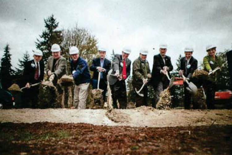 Harrison Groundbreaking