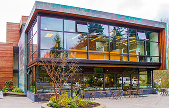 Eagle Harbor Market Building Exterior - by Coates Design Architects - Seattle, WA